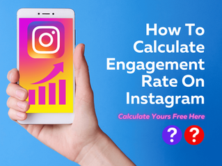 How To Calculate Engagement Rate On Instagram. Get Your Engagement Rate Here!