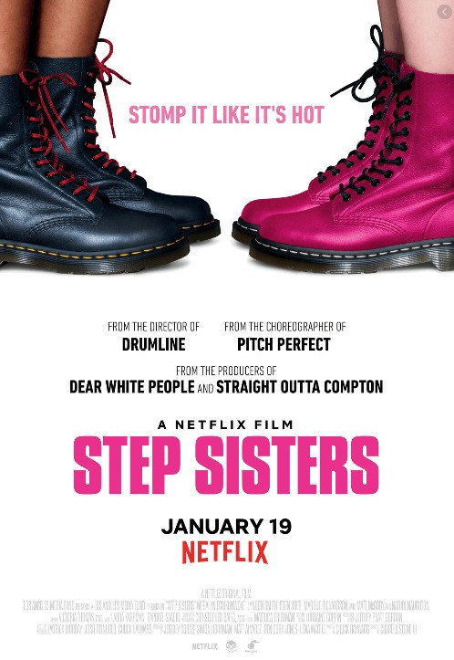 Step Sisters - - Movie Cover - Best Dance Films On Netflix