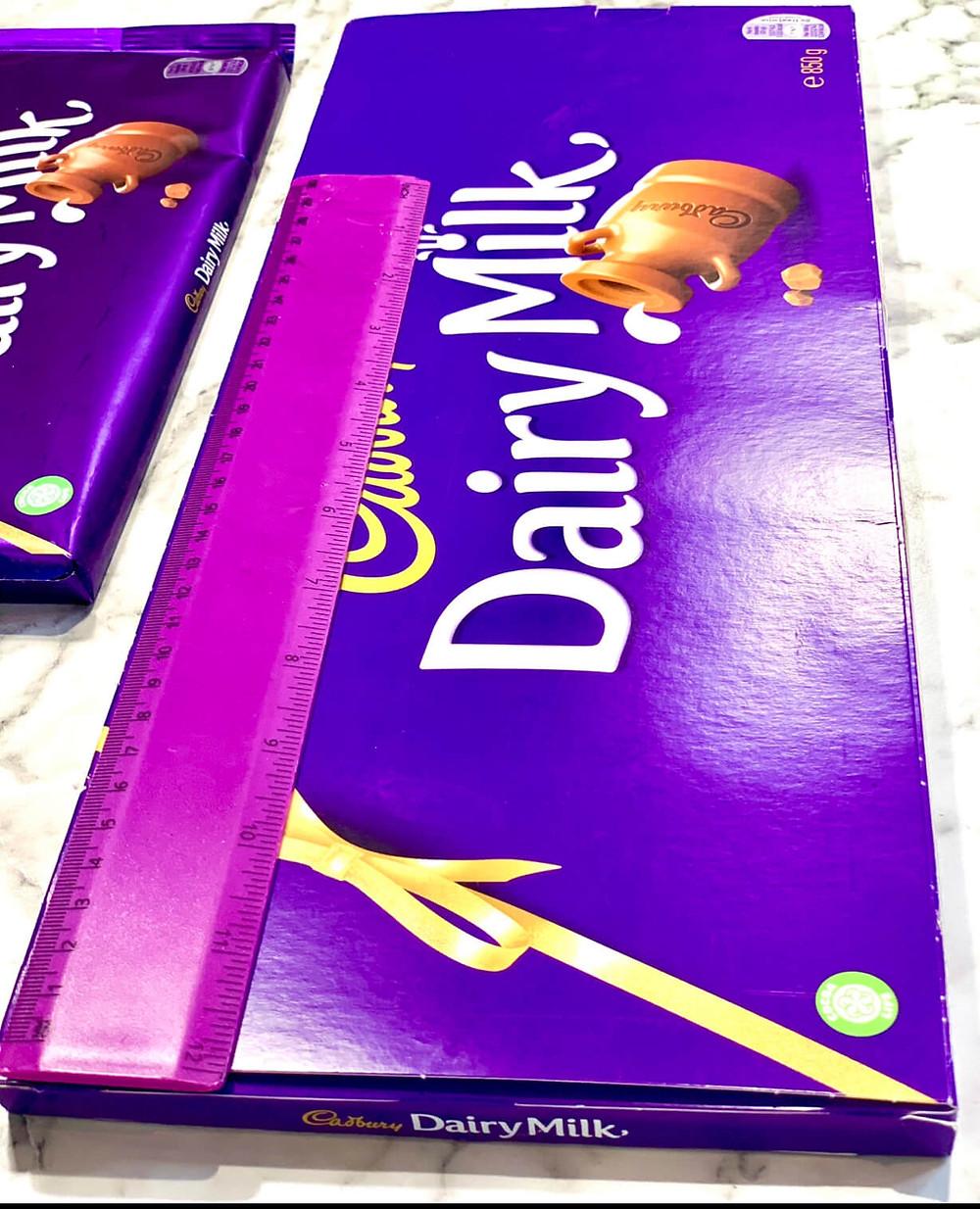 850g Cadbury Chocolate Bar