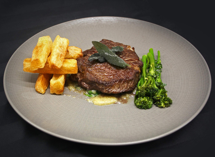 Rib eye medallion