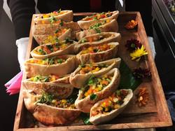 Mini shawarma