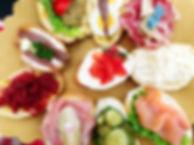 La storia delle tartine | Italia | Osteria Caffè Monte Baldo