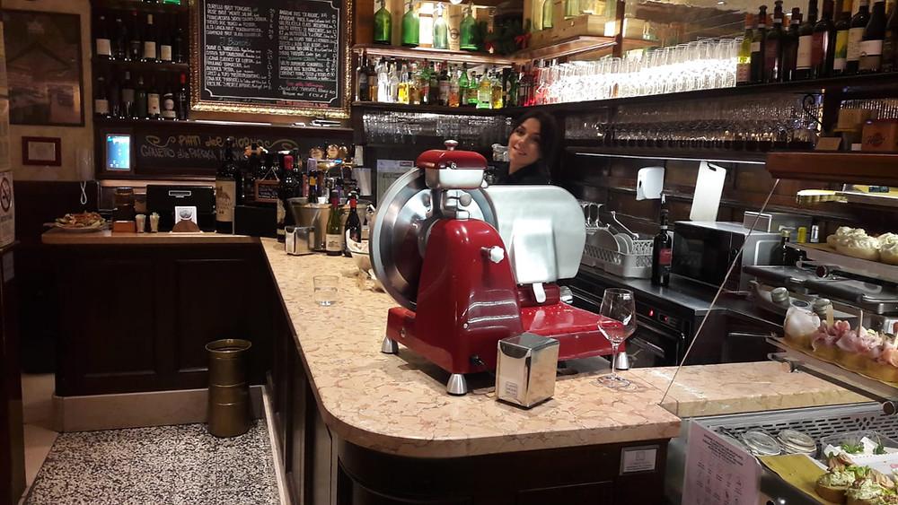Il Banco Aperitivo dell'Osteria Caffè Monte Baldo