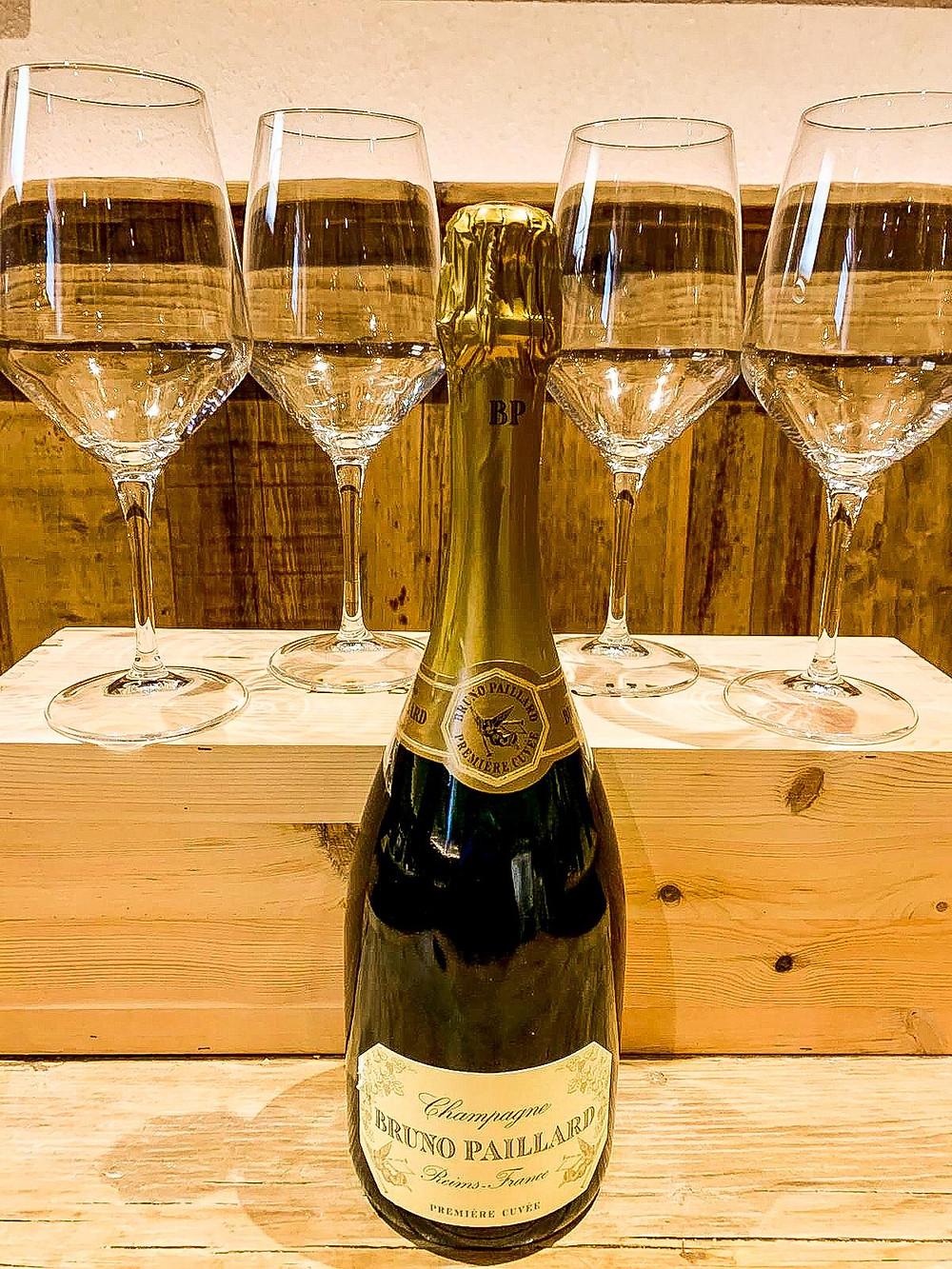 Champagne Bruno Paillard dalla Cantina del Caffè Monte Baldo