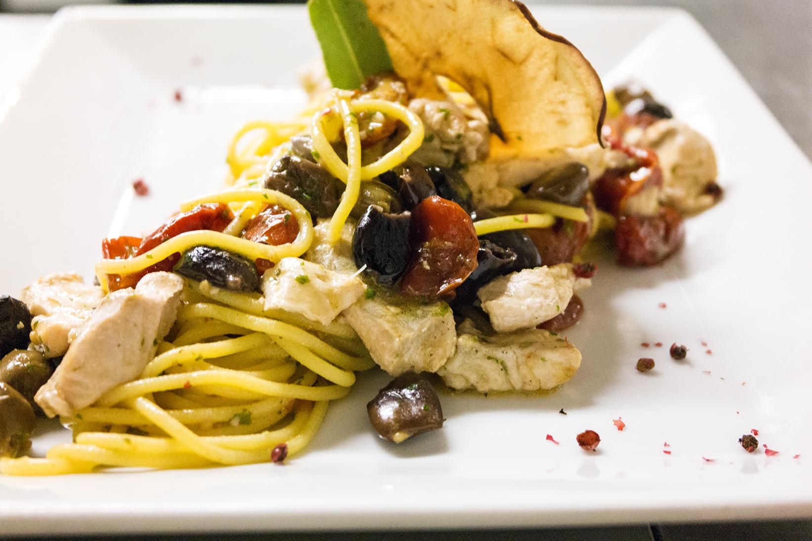 Spaghettini con Lavarello