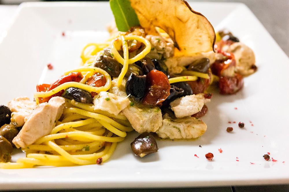 Spaghetti del Caffè Monte Baldo di Verona