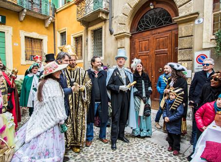 Il Duca della Pignata e il Dio dell'Oro arrivano in Piazzetta!