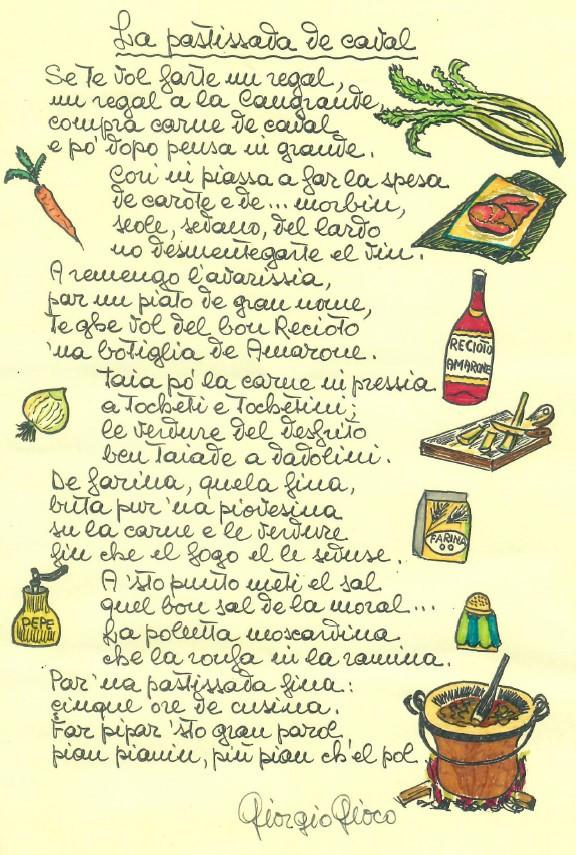 Ricetta Pastissada de Caval di Giorgio Gioco