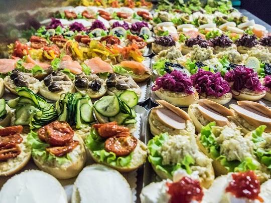 Tartine dell'Osteria Caffè Monte Baldo disponibili anche per asporto