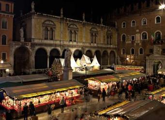 L'osteria Caffè Monte Baldo ai Mercatini di Natale 2019 di Verona