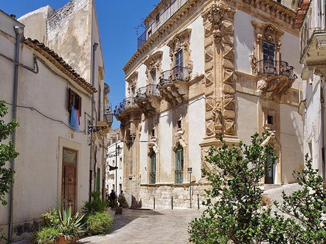Scicli - the greenhouse capital of sicily