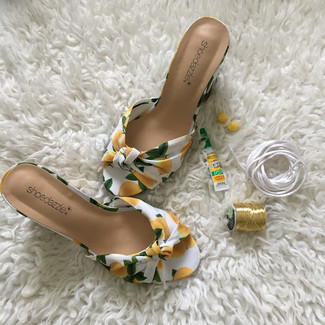 When life gives you lemons, you add them to your shoes!