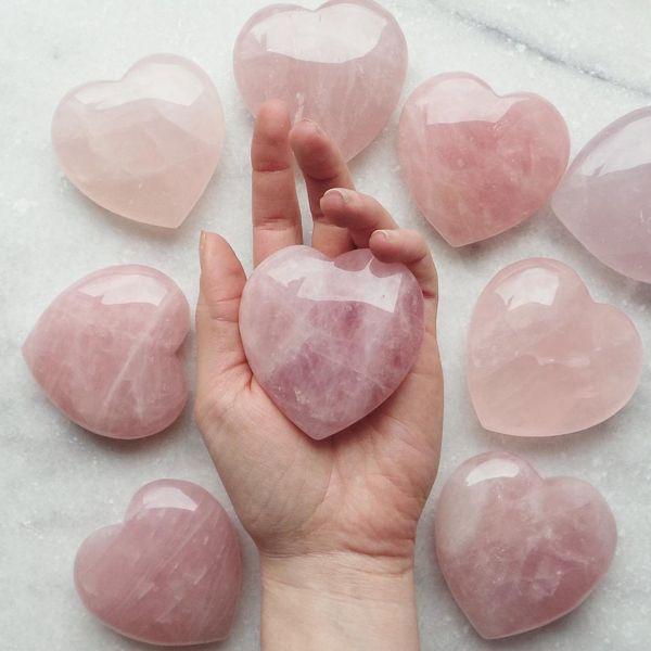 Rose Quartz, The Stone of Love...
