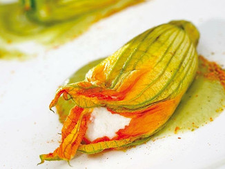 Stuffed Zucchini Flowers..To Die For!