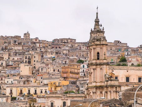 Modica - the chocolate capital of sicily