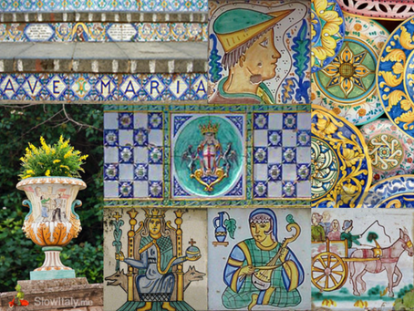 Caltagirone - the capital of ceramics