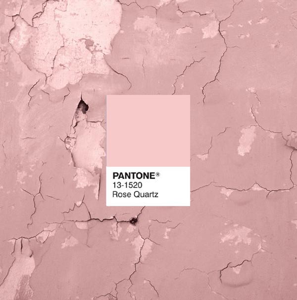 Pantone Color of the Month February : Rose Quartz