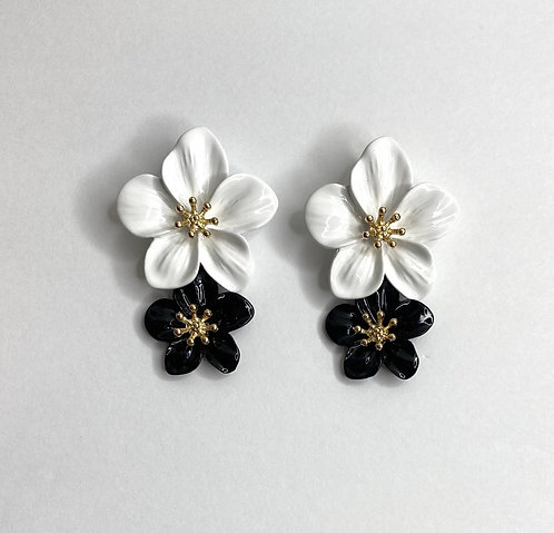 Camryn Flower Drop Earrings