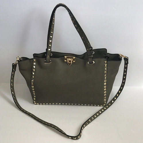 Taupe Uptown Tote