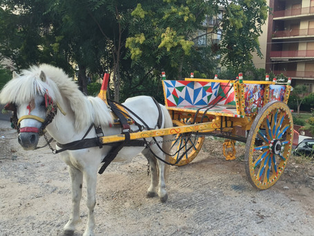 The Traditional Sicilian Cart