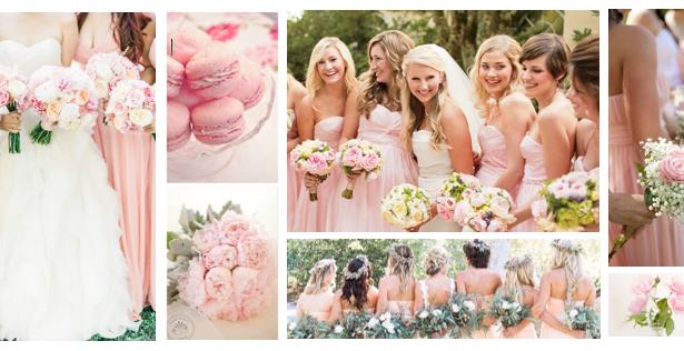 Rose Quartz, from ballet slippers to wedding flowers...