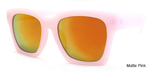 Knock Matte Pink Sunglasses