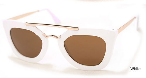 Electric White Sunglasses