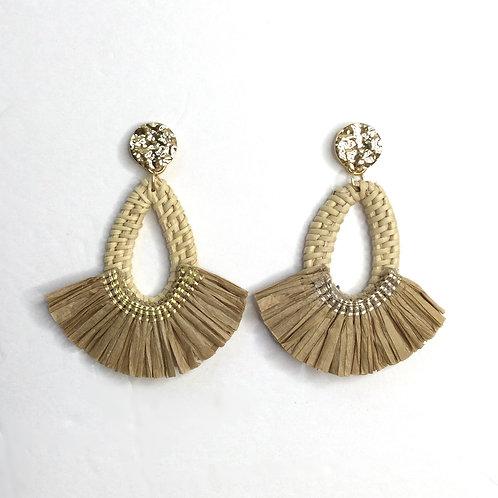 Reagen Raffia Earrings