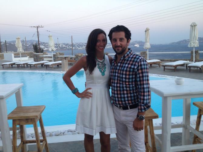 Honeymooning - Mykonos, Greece