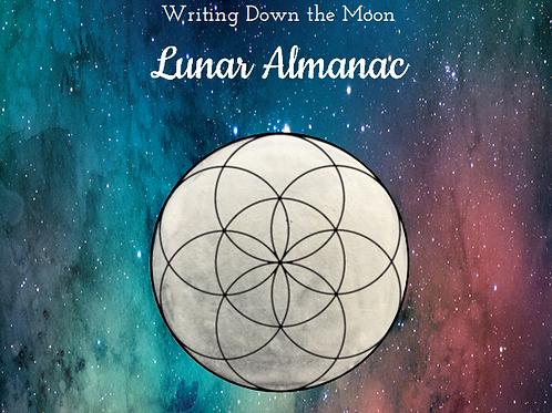 Writing Down the Moon Lunar Almanac