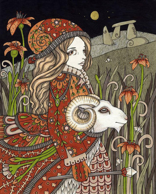 Aries New Moon Blessings