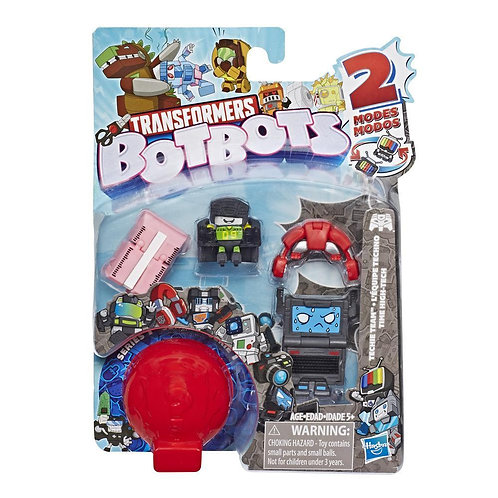 Series 1 Pack of 5 bots Techie Team Assorted