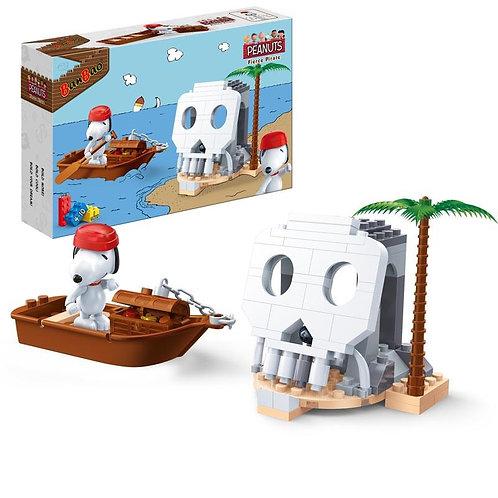 Snoopy Pirate Skull Island