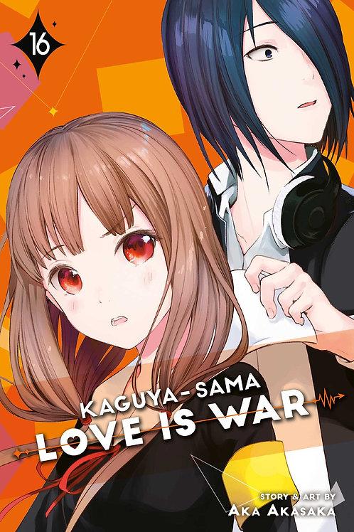 Kaguya-Sama: Love is War, Vol. 16 by Aka Akasaka