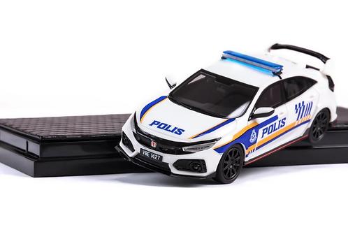 YM Model Car - Honda Civic FK8 Malaysia Police Edition