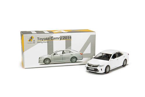 Tiny City Die-cast Model Car – Toyota Camry 2014 White #114