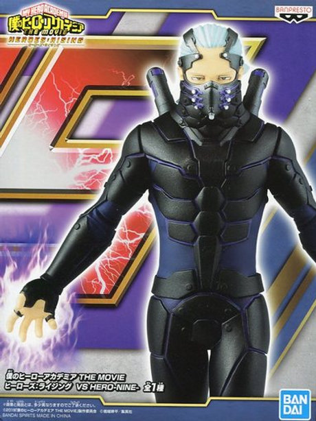 My Hero Academia: Heroes Rising Vs. Hero Nine