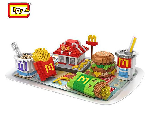 Delicious Food: Fast Food Meal Set