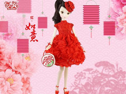 Glamorous Kurhn - Blessing Red