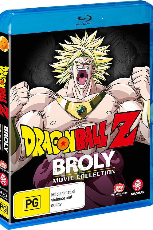 Dragon Ball Z: Broly Movie Collection (Blu-Ray)