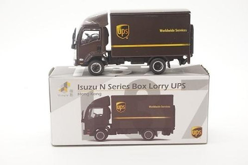 Tiny City Die-cast Model Car – Isuzu N Series Box Lorry UPS #137