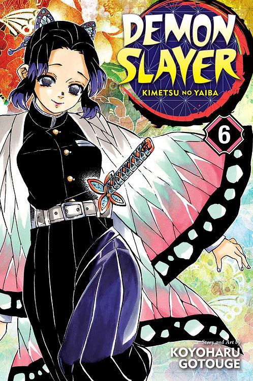 Demon Slayer: Kimetsu no Yaiba, Vol. 6 by Koyoharu Gotouge