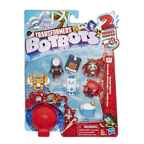 Series 1 Pack of 8 bots Jock Squad Assorted
