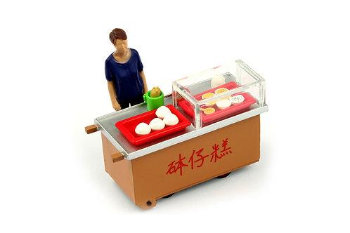 Tiny City Die-cast Model  – 1/35 HK Bowl Rice Pudding Cartful