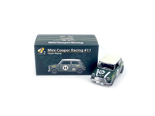 Tiny City Die-cast Model Car – Mini Cooper Racing #11