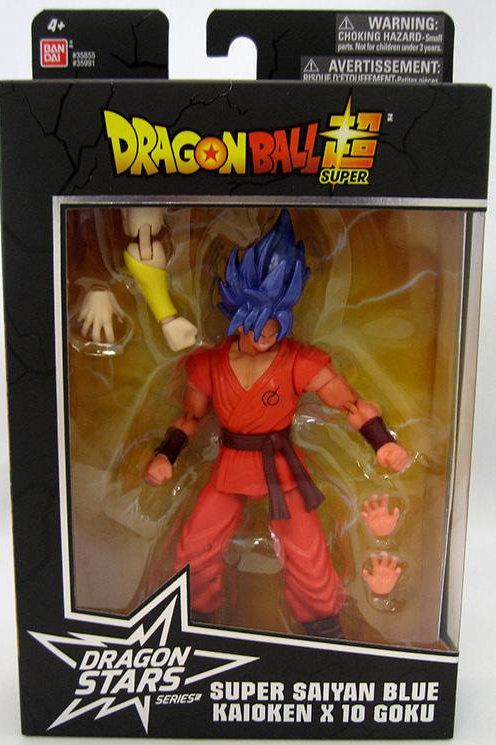 Dragon Ball Super - Super Saiyan Blue Kaioken x10 Goku Action Figure