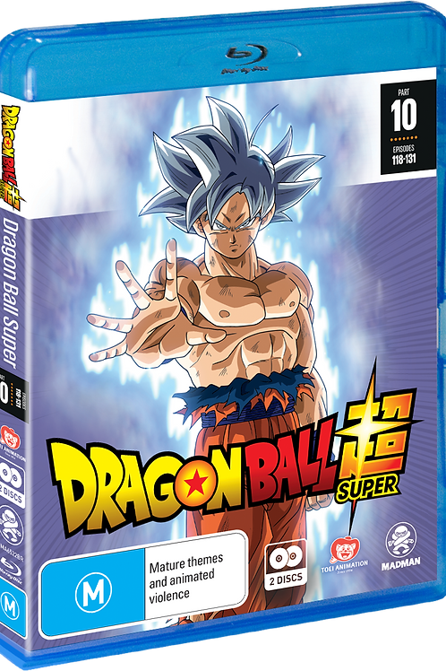 Dragon Ball Super Part 10 (Eps 118-131) (Blu-Ray)