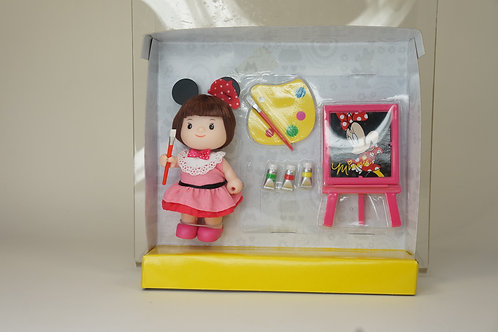 Disney Dudy Minnie with Painting Set