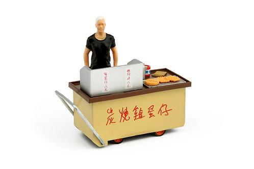 Tiny City Die-cast Model  – 1/35 HK Egg Puff Cartful