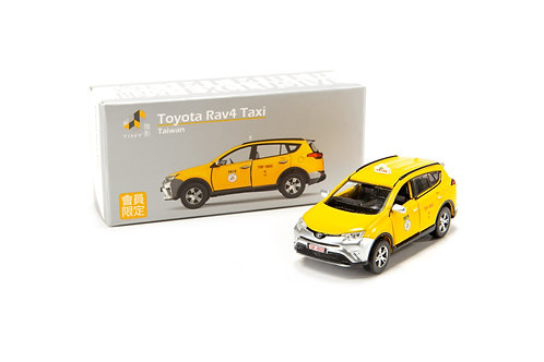 Tiny City Die-cast Model Car - Toyota Rav4 Taxi Taiwan TW (Exclusive)